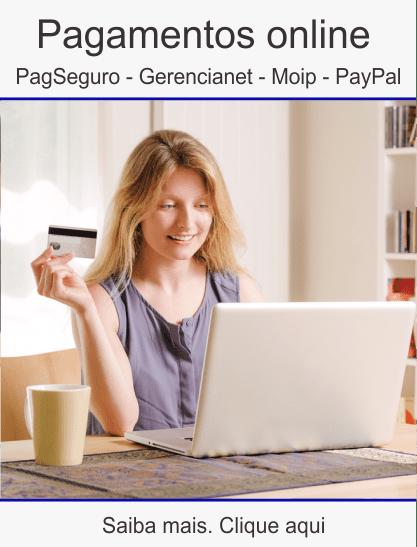 Pagamentos-online Cursos presenciais e a distância