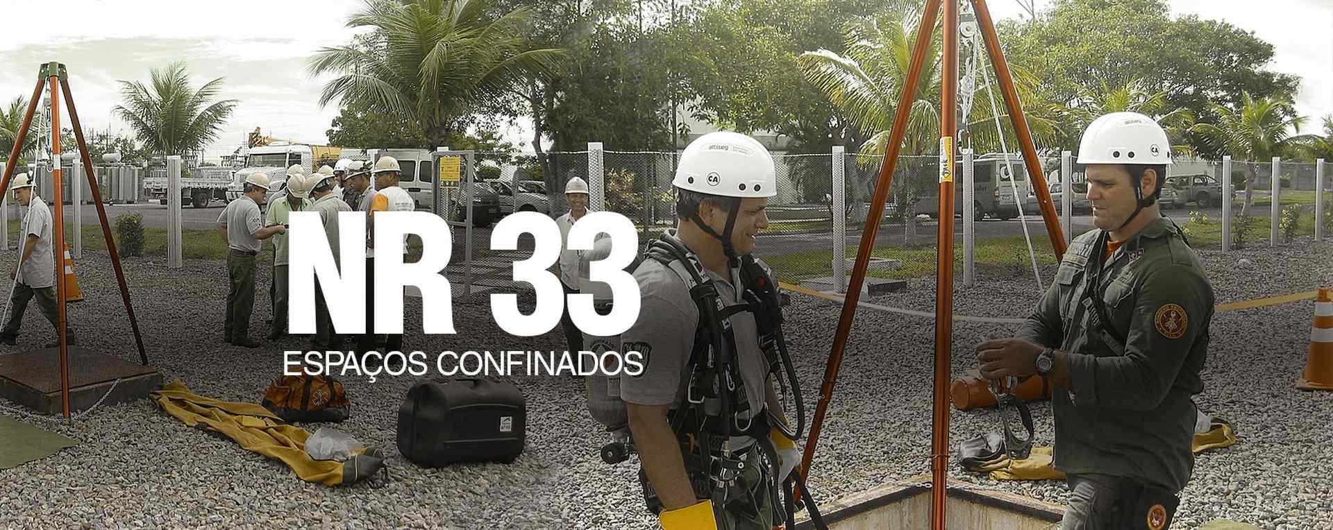 NR33 - Espaço confinado