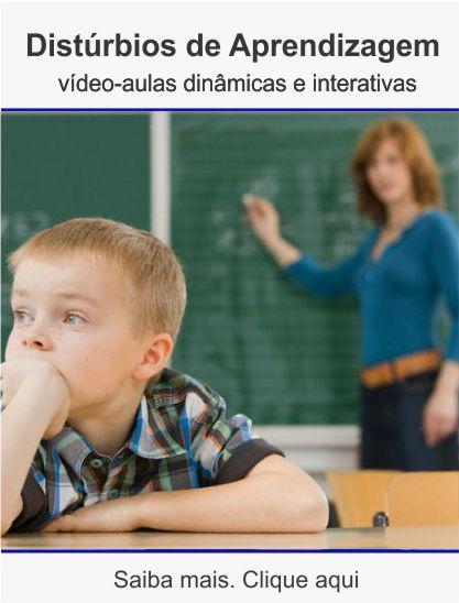 Curso de distúrbios da aprendizagem