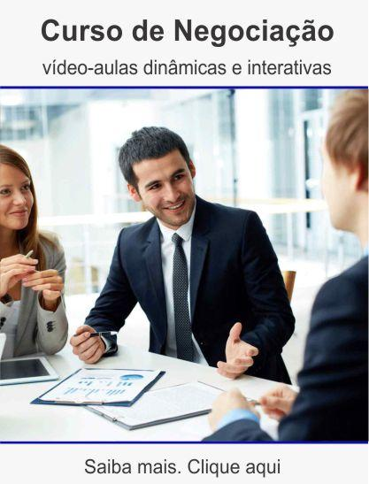 Curso de negociação
