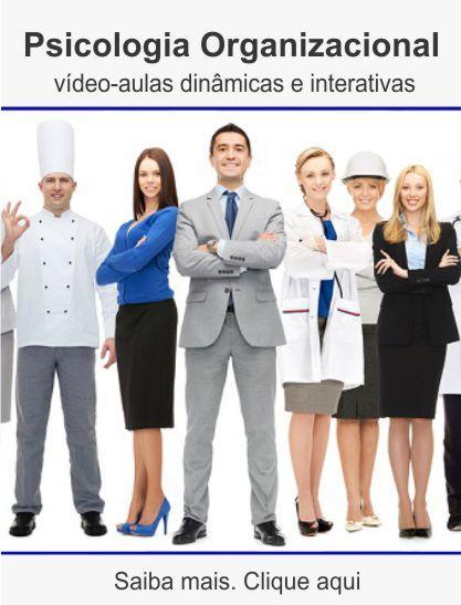Curso de psicologia organizacional