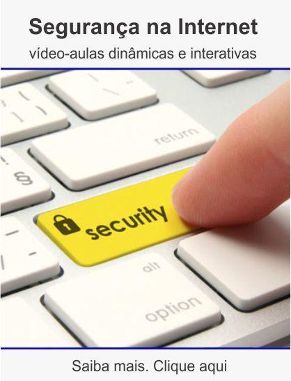Curso de segurança da internet