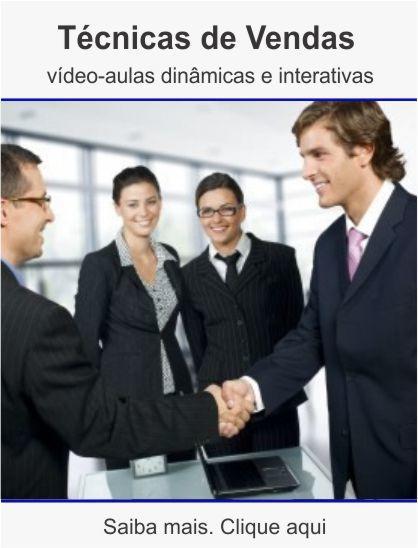 Curso de técnicas de vendas