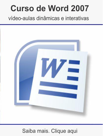 Curso de word2007