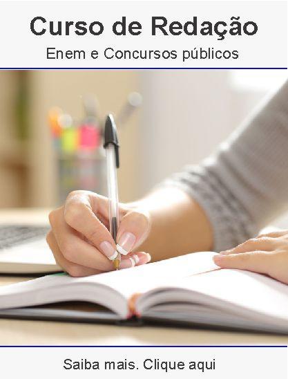 Curso de redação em Uberlândia – provas e concursos públicos