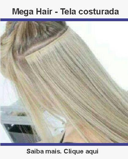 Mega Hair - Tela Costurada