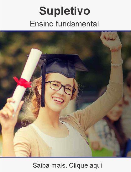 Supletivo – ensino fundamental