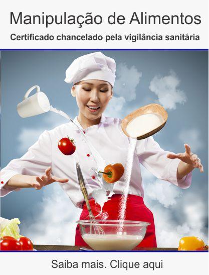 Curso manipulação alimentos Uberlândia