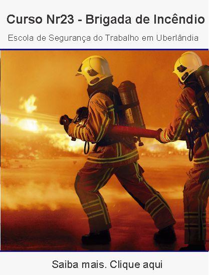 Curso nr23 – brigada de incêndio