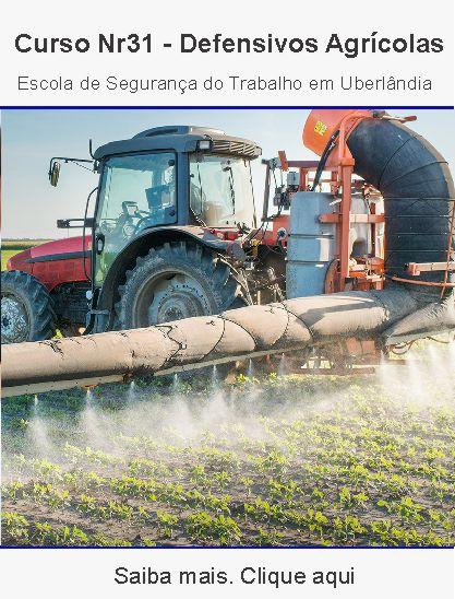 Curso nr31 – defensivos agrícolas