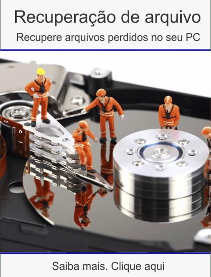 Curso recuperação de arquivos