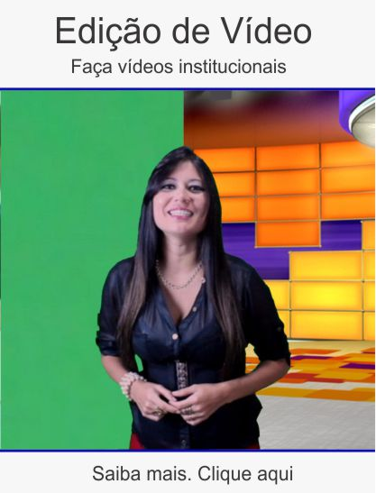 Edição de vídeo institucional