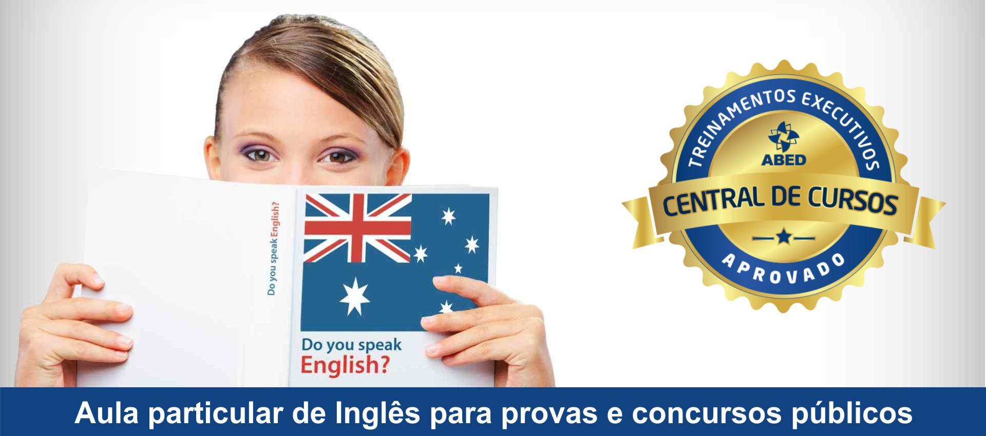 Aula de Ingles particular em Uberlândia