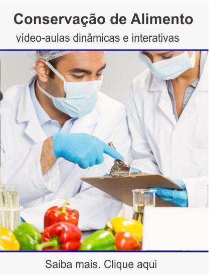 Curso de conservação de alimentos