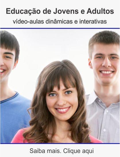 Curso de educação jovens e adultos