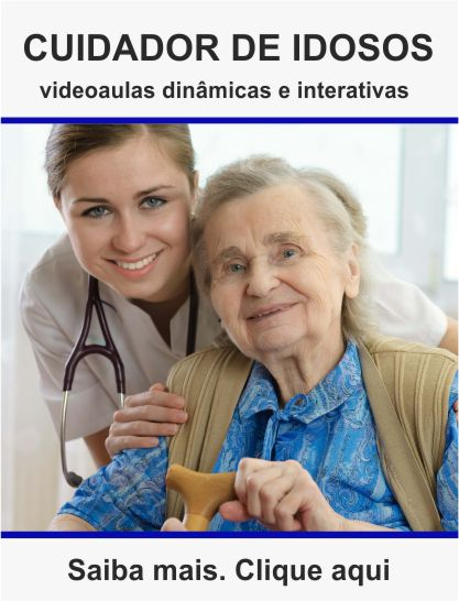 Curso de cuidador de idosos a distância