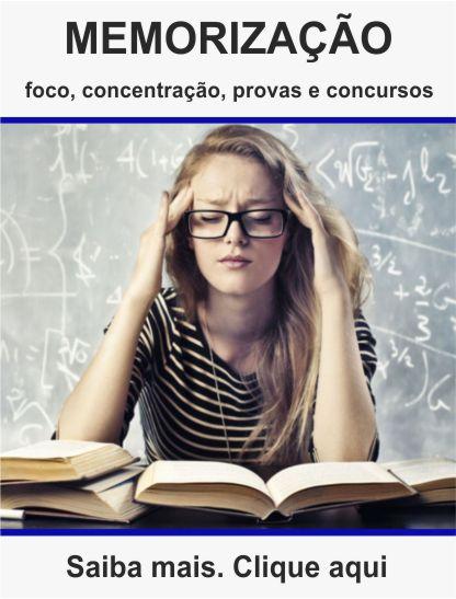 Curso de memorização foco e concentração