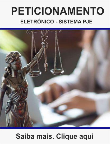 Curso de peticionamento eletrônico