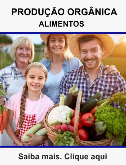 Curso de produção orgânica de alimentos