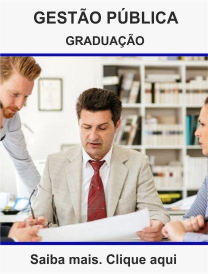 Graduação Gestão pública