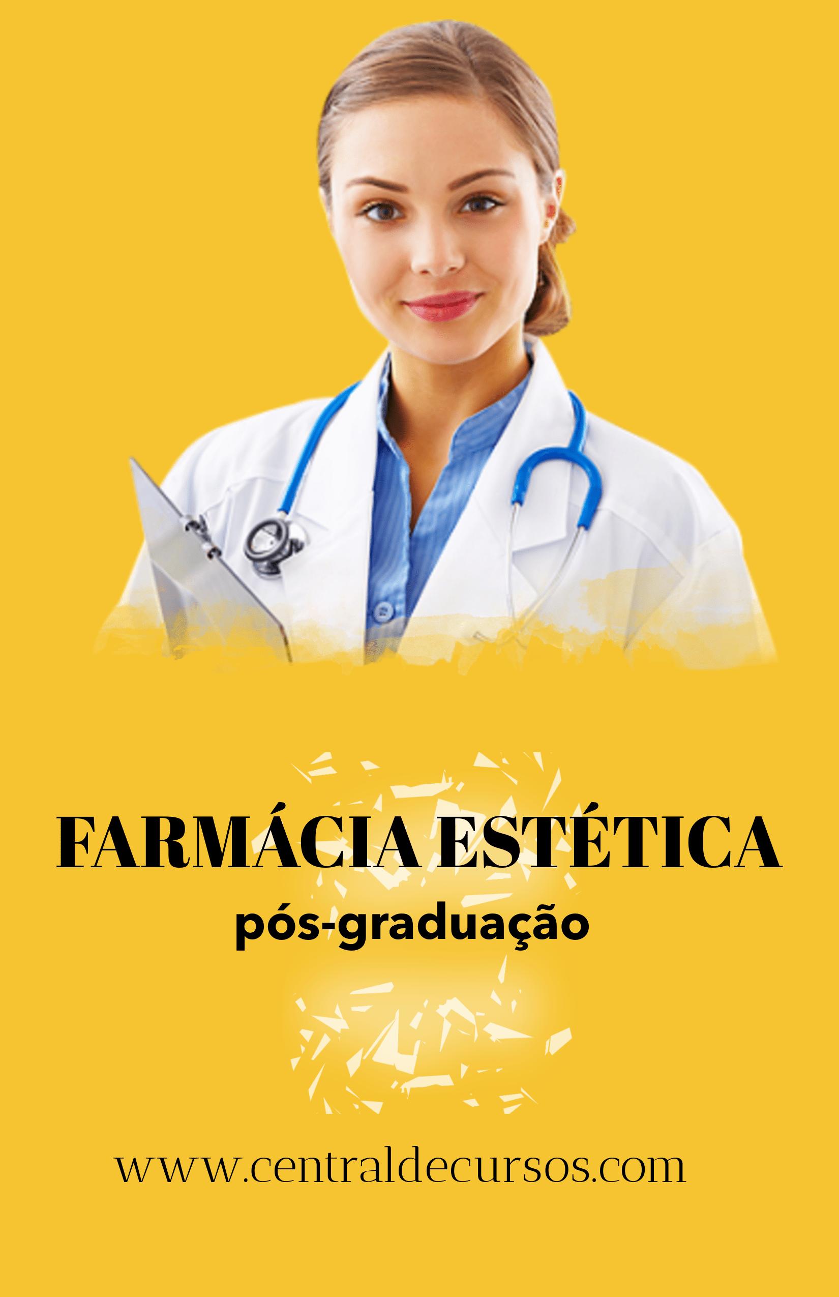 Pós-graduação em farmácia estética